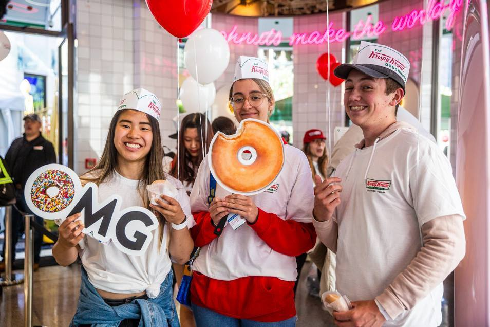 Krispy Kreme NZ Launch 2